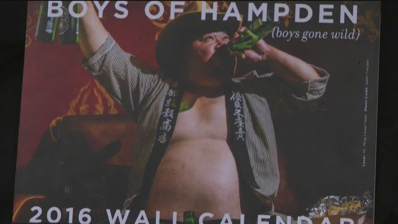 "The ""Boys of Hampden"" calendar features business owners like you've never seen them. The calendar models have stripped down to raise money for the community center on the avenue."