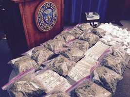 City police believe they have taken down two major drug distributors in Baltimore after recovering over $260,000 worth of drugs and money during a bust.