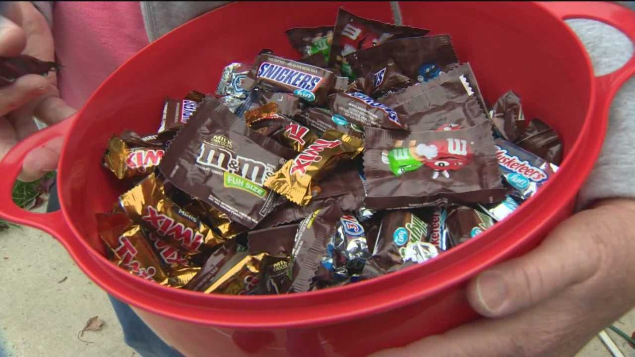 Kids worked hard on Saturday going door to door for candy, and chances are they brought it home by the pound.