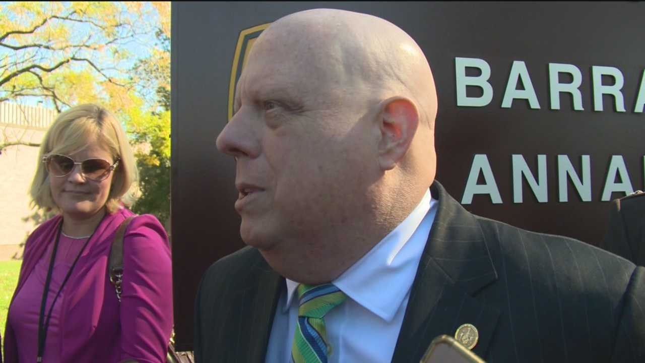 Maryland Gov. Larry Hogan said the former administration cooked the books to help bring up student test scores.