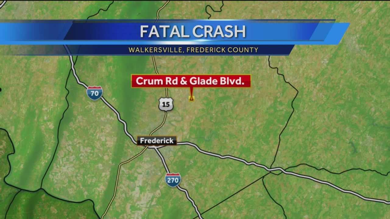 One teenager has died and two others are seriously injured after a single-car crash in Walkersville.