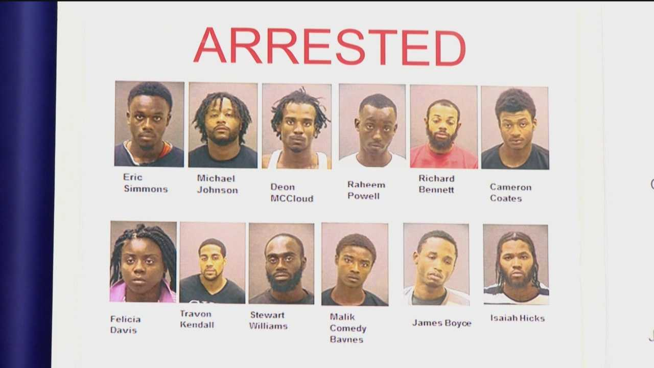 A significant number of weapons and drugs were seized, and 19 indictment warrants were issued after a 60-day investigation into violence and drug dealing in the Brooklyn Homes community in south Baltimore, city police said. Baltimore city detectives and Drug Enforcement Administration investigators identified several suspects of violent crimes in south Baltimore.