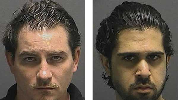 James Michael Warhurst (left),Ali Reza Rohanimanesh (right)