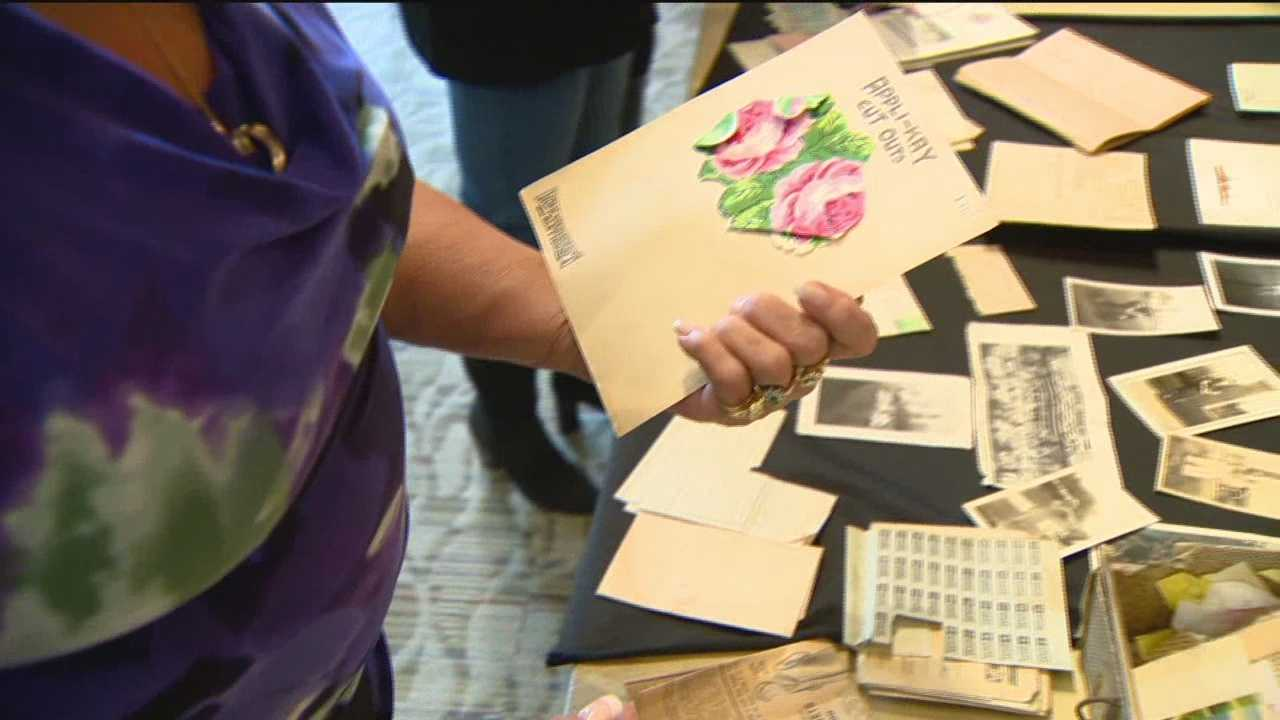 Some precious World War II items found in a Laurel home were returned to their rightful owner on Veterans Day. Laurel officials said someone renting a home found a large collection of World War II memorabilia in the attic. The collection includes love letters, articles, telegrams and other material believed to be from the 1940s, all of which hold sentimental value for Rita Shane, and came as a special surprise on Veterans Day.