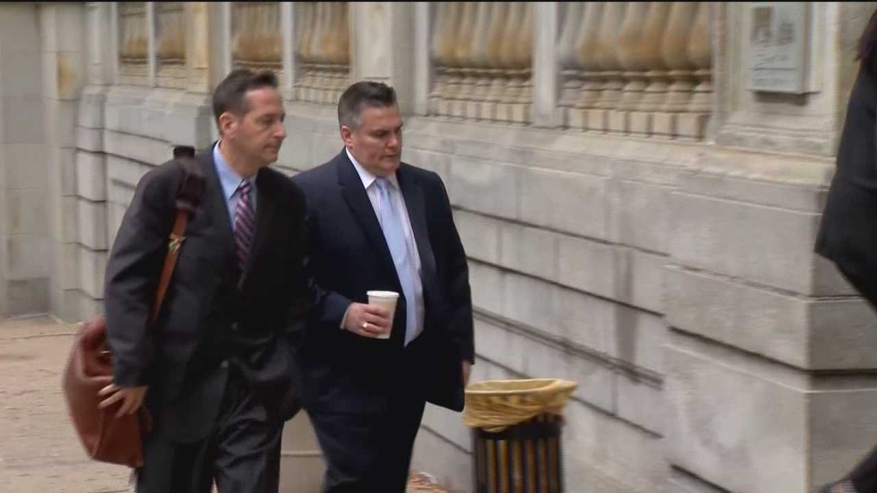 The prosecution rested Tuesday in the trial for a Baltimore City police officer accused of killing a dog in Canton in June 2014. The state put a together a case trying to show that Baltimore police Agent Jeffery Bolger cut a dog's throat, killing it, while it was being subdued. He is facing a number of animal cruelty charges. State prosecutors called one final witness to the stand Tuesday: Kathryn Nepote, the pathologist who performed the necropsy on Nala, the shar-pei killed when Baltimore police tried to