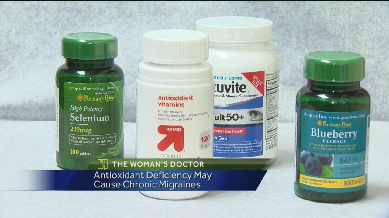 Recent study links migraines, antioxidant levels