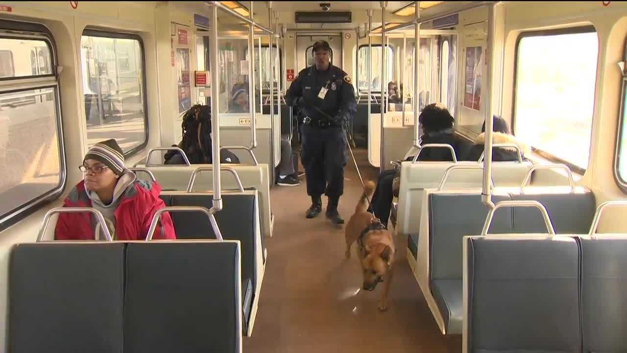 The Maryland Transit Administration is conducting random checks of buses and trains after the recent terrorist attacks in other countries. Immediately after the Paris attacks on Nov. 13, MTA police said they began increasing security to make sure passengers are safe in the Baltimore area. At the Cold Spring Metro Station in northwest Baltimore, MTA police conducted a sweep.