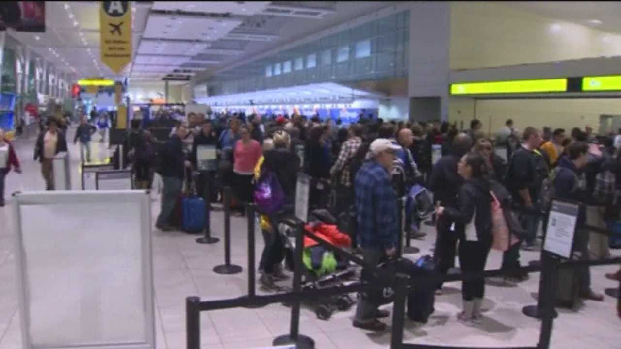 Wednesday is typically considered the busiest travel day of Thanksgiving week. But many people got started Tuesday. This comes at a time when there is a travel alert from the U.S. State Department following the terrorist attack in France. In all, more than 46 million Americans are getting ready to travel over the holiday weekend.