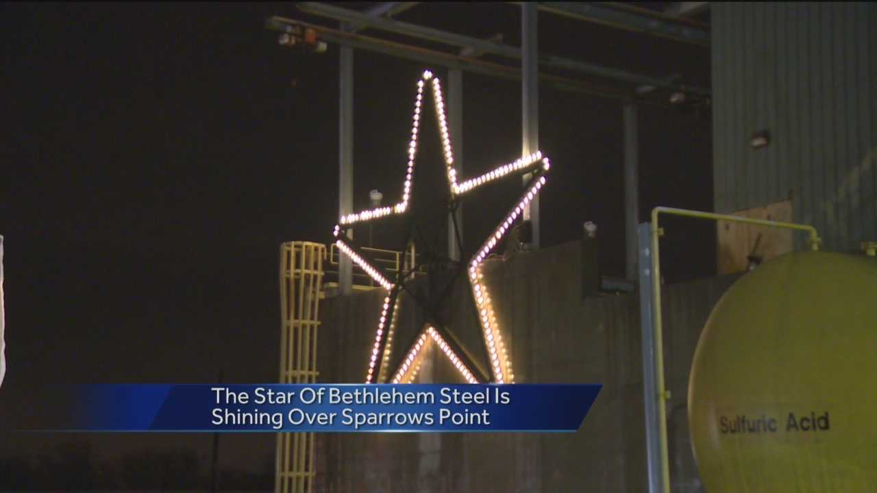 "It's a symbol of the holidays in Baltimore. A tradition running more than 30 years strong, the lighting of the ""Star of Bethlehem"" over Sparrows Point. The steel mill closed in 2012, but that's not stopping this tradition from continuing."