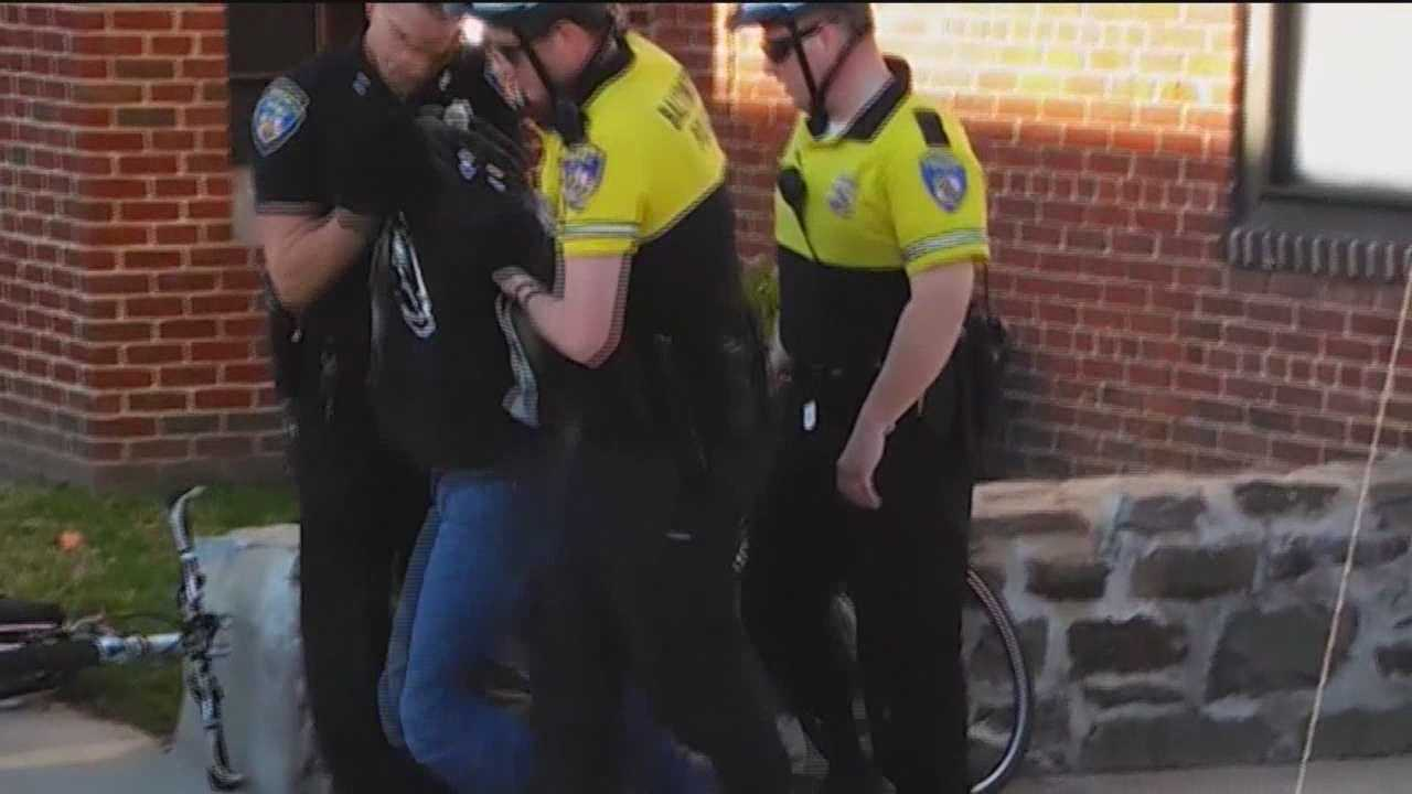 The jury watched cell phone video showing the arrest of Freddie Gray and saw the van used to transport him during the fourth day in the trial of Officer William Porter. Porter is the first of six officers to go on trial on charges connected to Gray's death.
