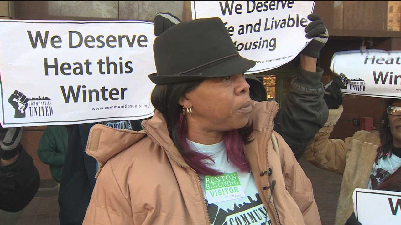 Baltimore City public housing residents take to the streets again demanding safe and livable housing.