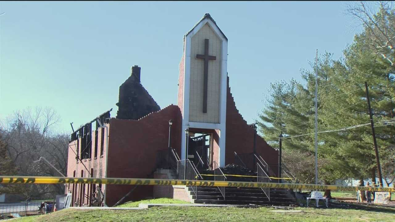 Parishioners of a United Methodist Church in Cecil County will have to find a new place to worship. Fire officials said someone intentionally set the Baldwin United Methodist Church in Elk Mills on fire overnight.