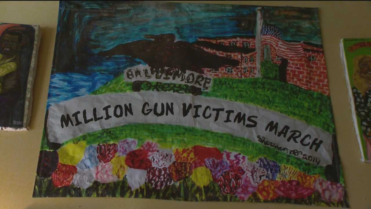 Tuesday marks 35 years since Mark David Chapman shot John Lennon to death in New York City. That tragedy is serving as part of the inspiration to paint Maryland gun victims in a better light.