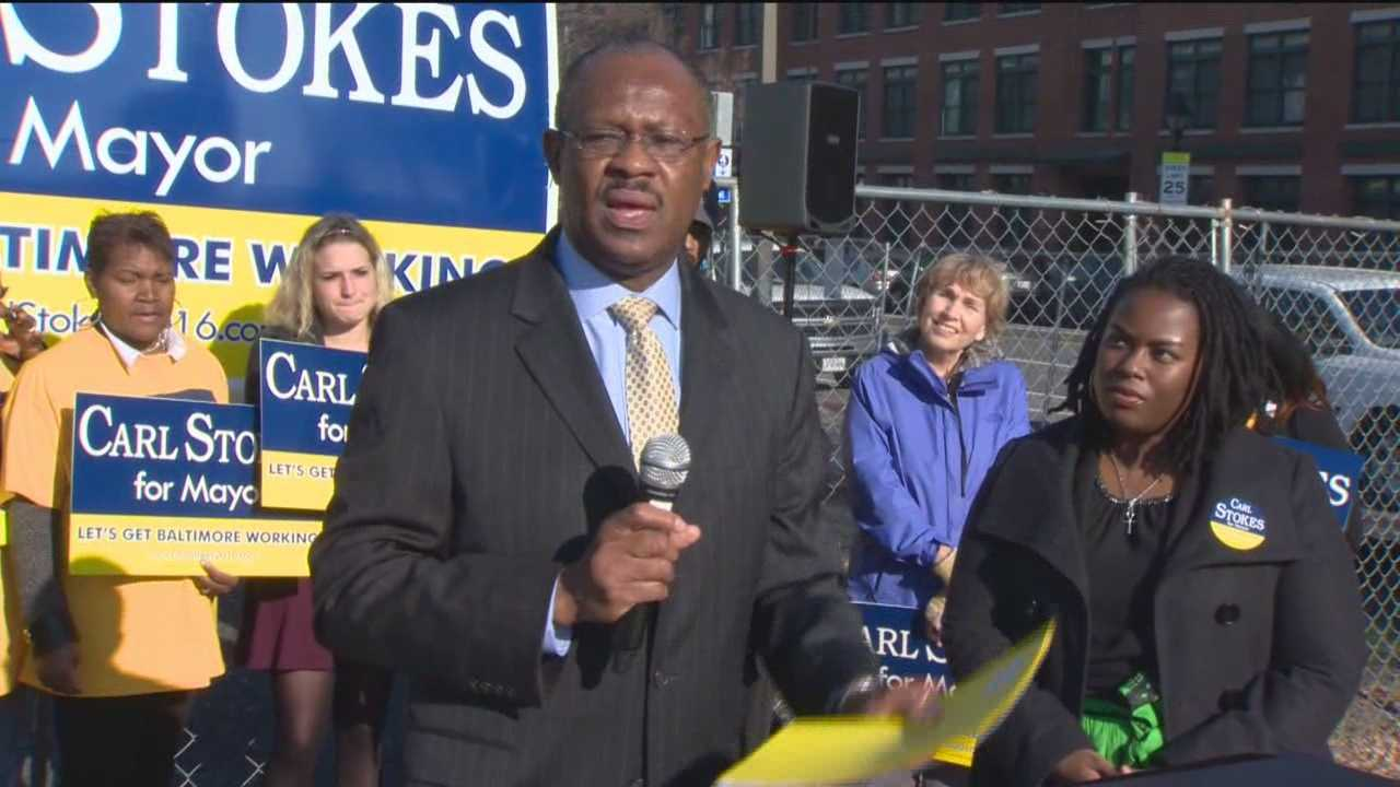 The race for mayor of Baltimore firmed up a bit when City Councilman Carl Stokes formally announced he is running for the city's top spot.