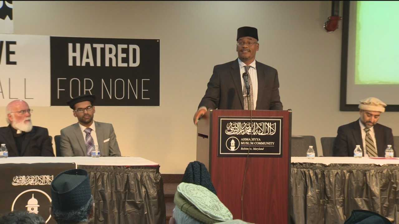 Muslim, Jewish and Christian religious leaders gathered Sunday for an interfaith prayer service for peace. The gathering was in response of the shooting in San Bernadino, California. It was designed to offered insight into the Muslim faith.
