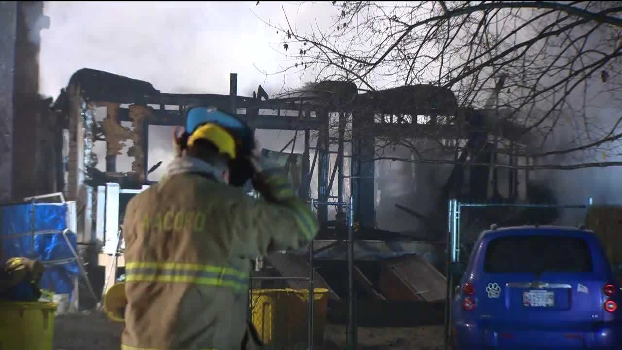 Police said the woman found dead inside her burning home in Severn was murdered. Anne Arundel County police said there were red flags very early on in this investigation that this case might be a homicide. Police said the woman who died inside her house, Diana Knight, 59, had been murdered, citing blunt force trauma.