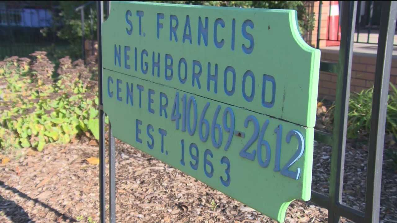 St. Francis Neighborhood Center awarded with Ravens Honor Rows