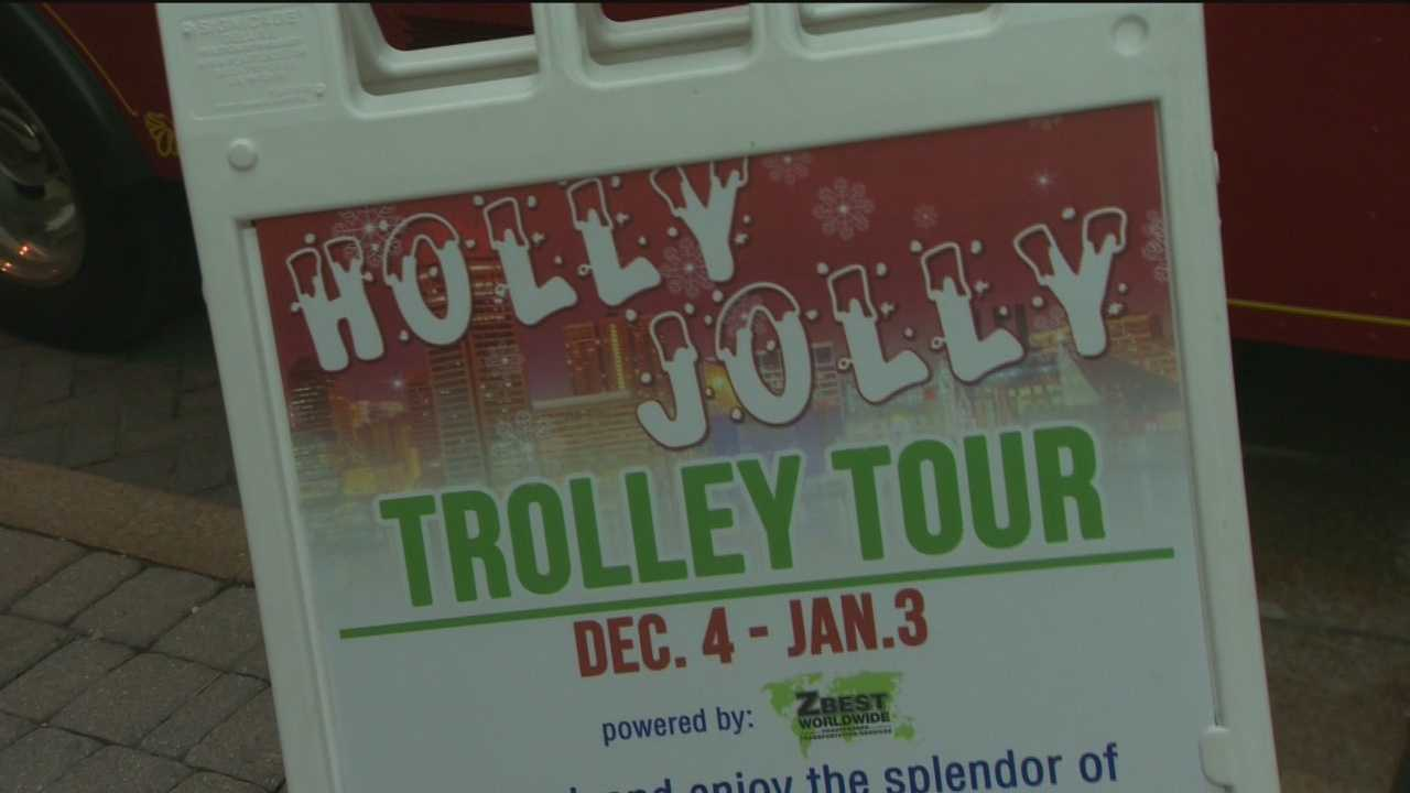 If you're looking for an easy way to see some of the Christmas lights in the city, the Holly Jolly Trolley is running again this year.