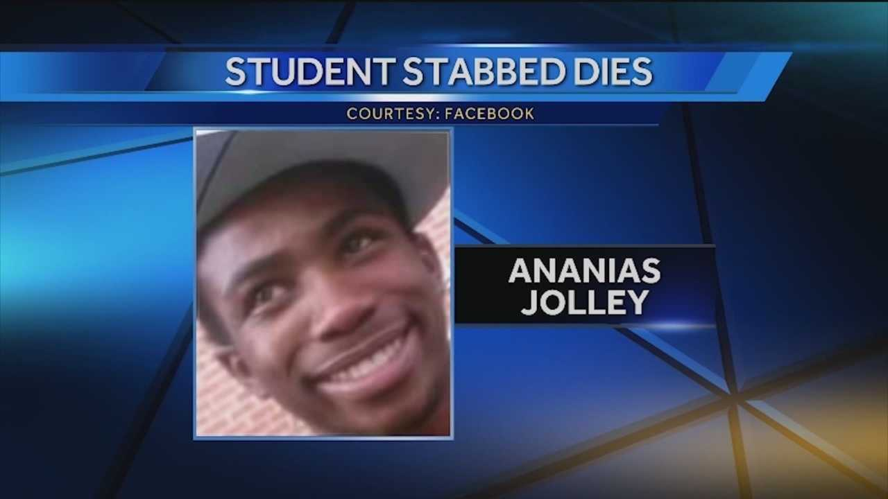 A 17-year-old who was stabbed by a schoolmate last month in a classroom at Renaissance Academy has died, city police said.