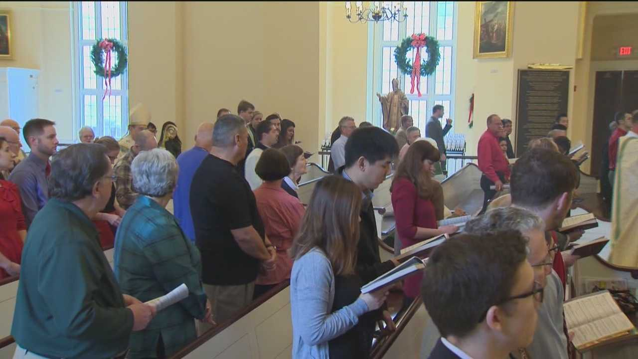 People in and around the Baltimore region are giving back to community and participating in prayer during Christmas Day.