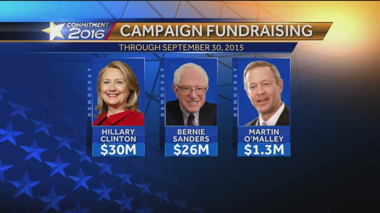 This is no holiday week on the fundraising side of politics. A deadline looms Thursday night for candidates to report how much or how little money they've raised in the last quarter.