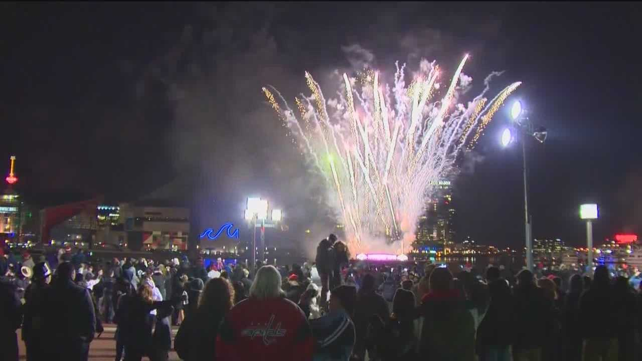 Preparations are underway for Baltimore's celebration of the new year.