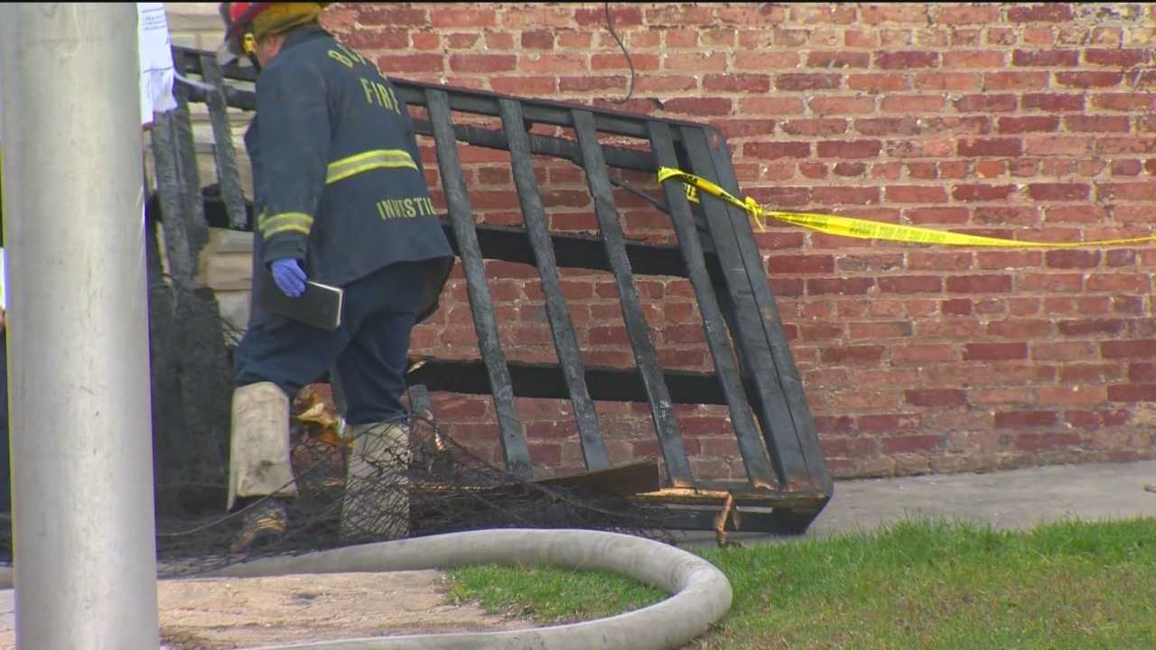 A fatal fire in east Baltimore is under investigation.