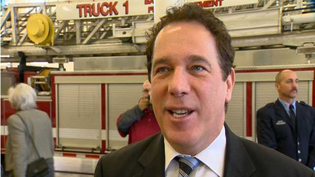 Baltimore County Executive Kevin Kamenetz defends his decision not to seek $257,000 from city for cost incurred during this past spring's unrest.