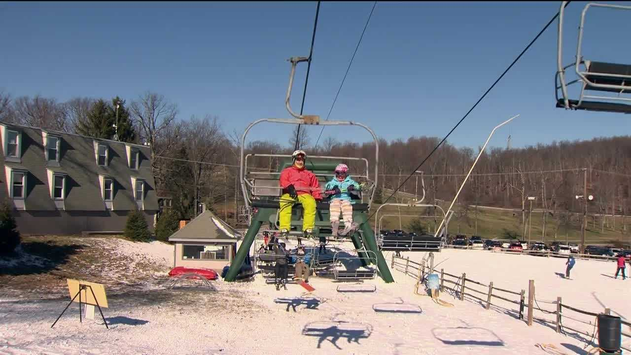 Roundtop Mountain Resort finally opened its slopes Wednesday opening the latest in the season in its history.