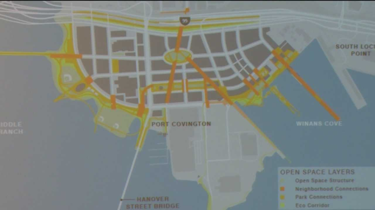 On Thursday, one of Baltimore's proud sons is planning on making a big investment to help make that happen. Under Armour founder Kevin Plank's development company is ready to make another big addition in the city. Sagamore Development made the big pitch to the city's Urban Design and Architecture panel. The project? A multi-billion dollar waterfront, mixed-use development on Port Covington on the harbor's southwest side.