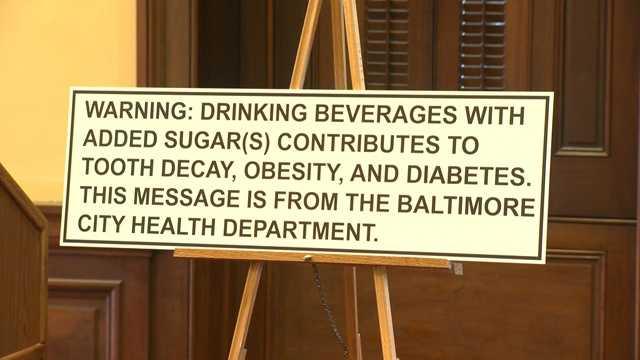 sugar drink warning label proposed