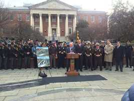 Jan. 12:Law enforcement oppose veto overrides in Annapolis.