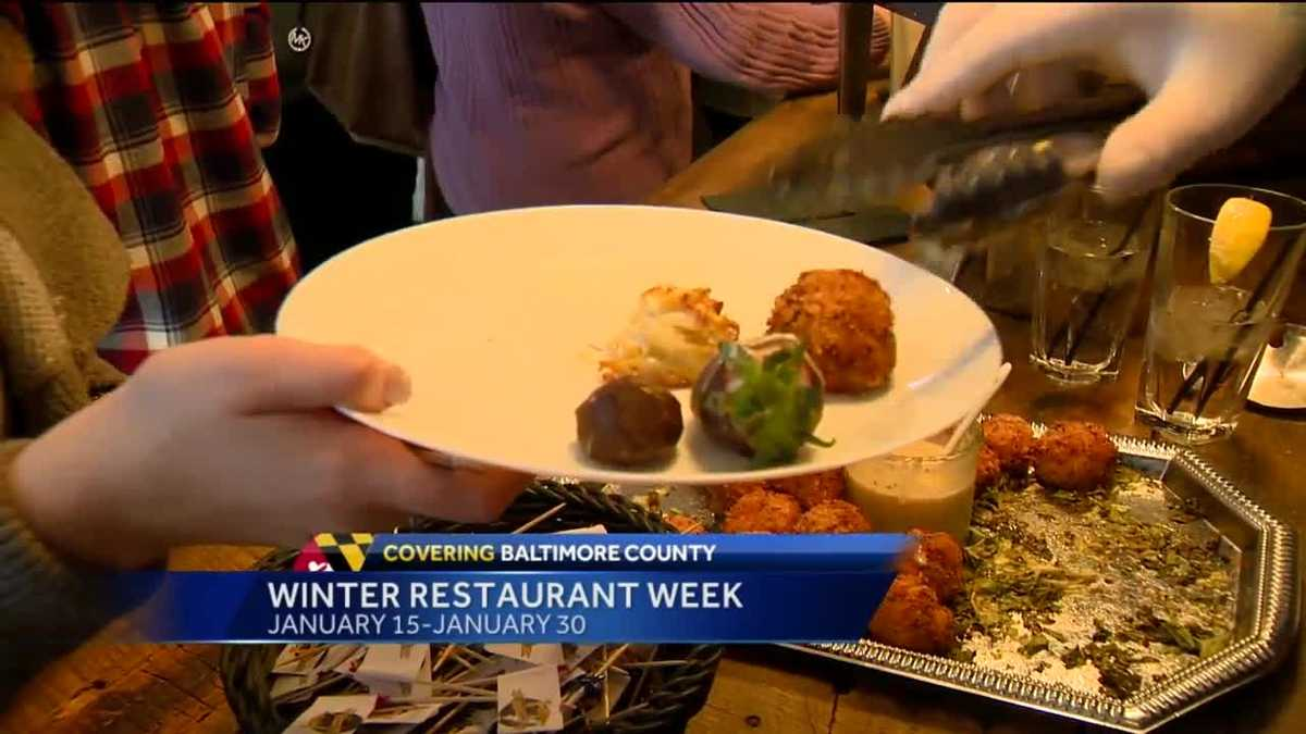 Baltimore County Restaurant Week Jan