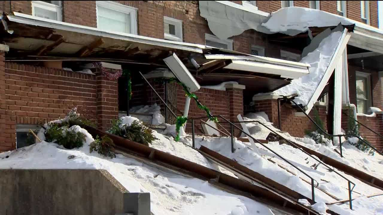Several roof collapses have been reported throughout Maryland in the days after an historic snowstorm.