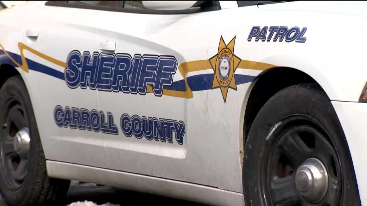 A 5-year-old girl died Monday after she was struck by a car while sledding in Sykesville, the Carroll County Sheriff's Office said.
