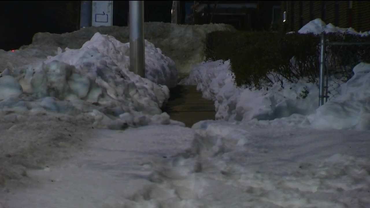 Baltimore officials said they will begin to issue citations for those who have not shoveled the snow off their sidewalks.