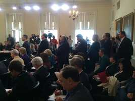 Jan. 27: Elected officials line up Board of Public Works.