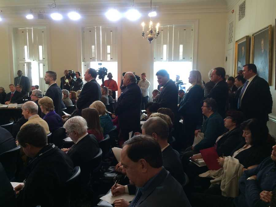 Jan. 27:Elected officials line up Board of Public Works.