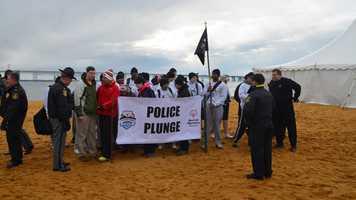 Police Plunge