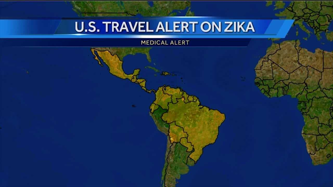 More Places Added To US Travel Alert On Zika - Us travel alert map