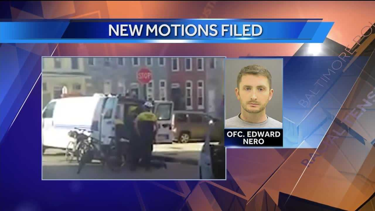 A new flurry of pretrial motions have been made public in the case against Officer Edward Nero.