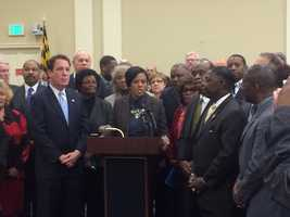 Feb. 3: Democrats rally for inclusion in Gov. Larry Hogan's priorities.