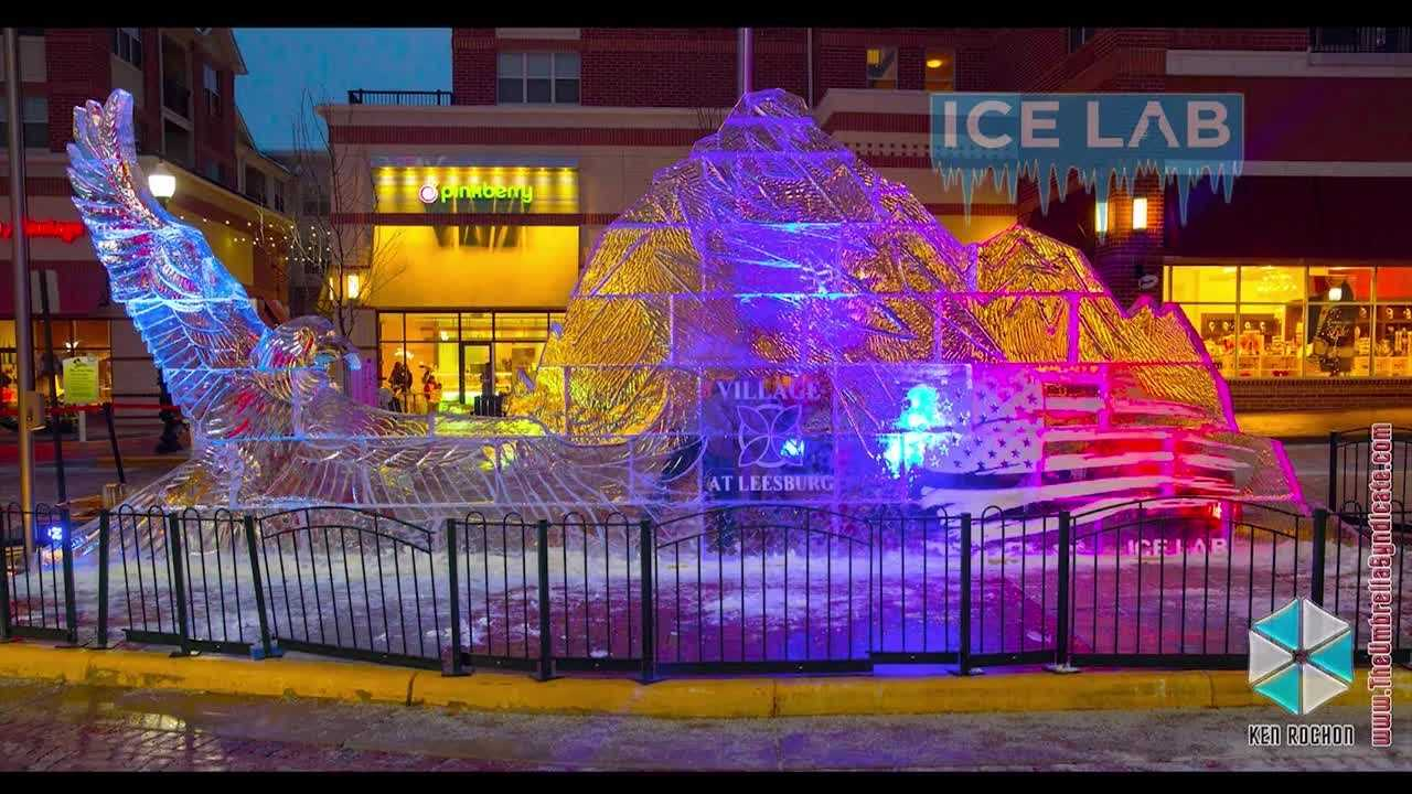 You've seen them in other parts of the country and in other parts of the world, and now the town of Sykesville in Carroll County is getting ready for its first ever ice festival Saturday.