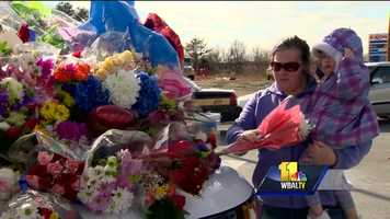 Since early Thursday morning, folks from all around the state have been paying respects at a memorial set up in front of the southern district station, many at a loss for words.