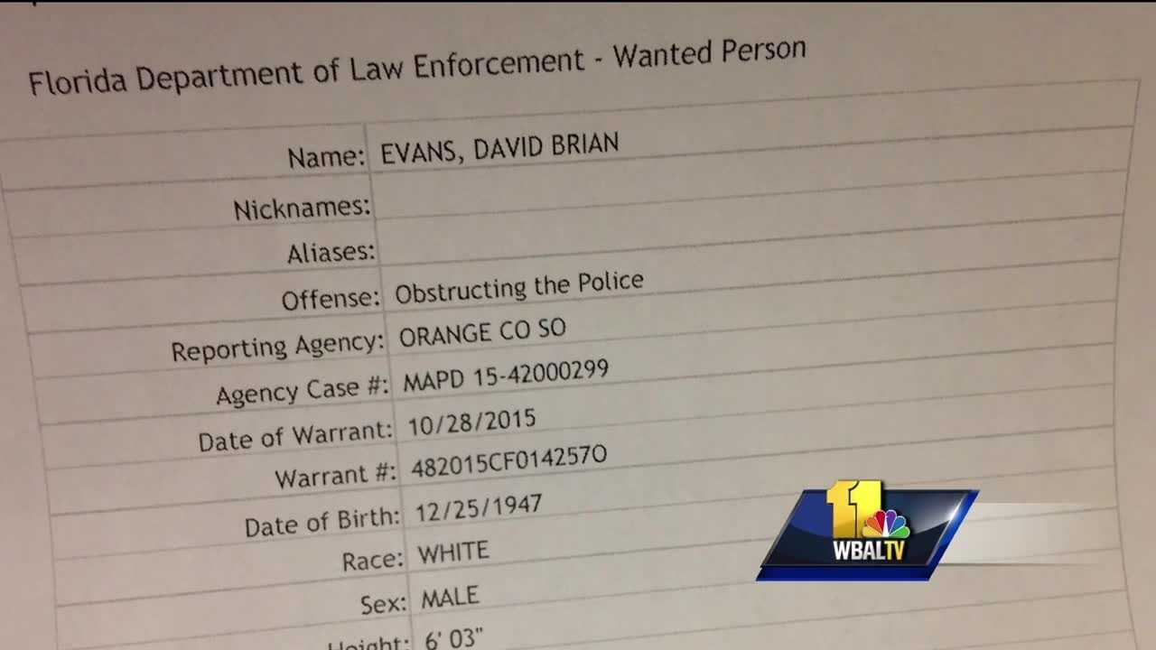 Law enforcement officials and family members said the suspected gunman who fatally shot two Harford County Sheriff's Office deputies had a troubled criminal past. David Evans had two outstanding warrants when on Wednesday police said he killed the deputies before other deputies fatally shot him.