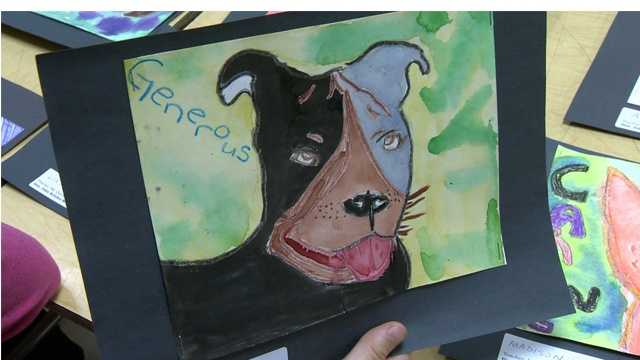Kindness for Paws is a student art show set for Sunday at White Marsh Mall with the proceeds benefiting the Maryland  SPCA.