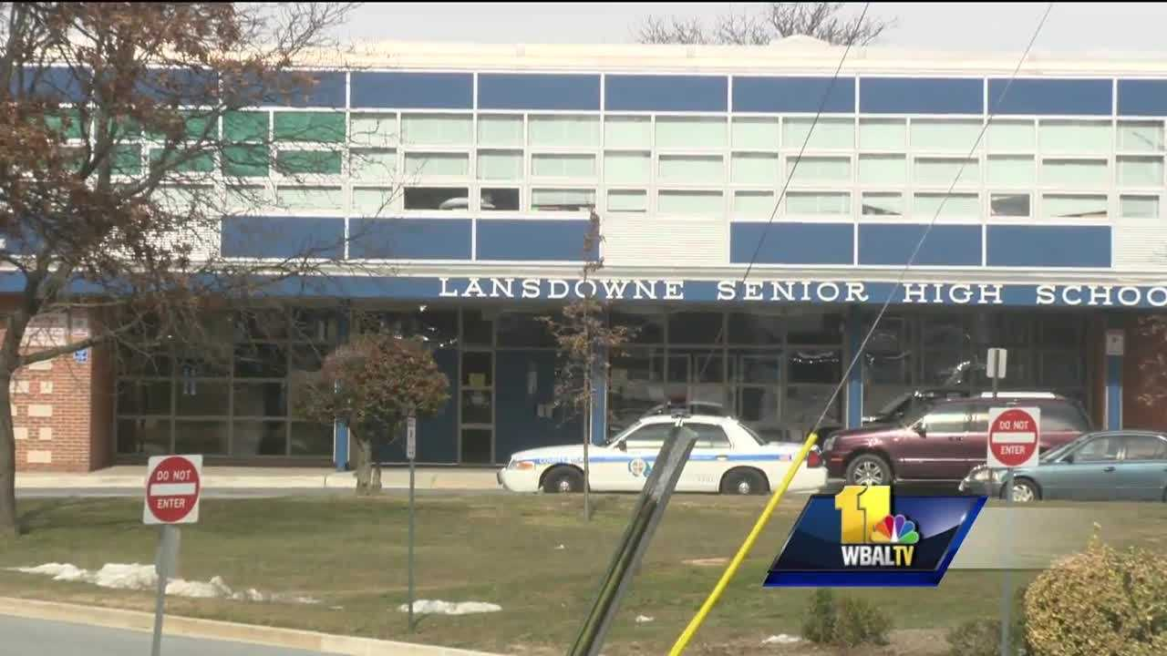 Some Baltimore County parents and teachers are turning their thumbs down to a planned school renovation. They believe Lansdowne High School should be rebuilt instead. The school is starting to show its age. The building is more than 50 years old. The school system wants to invest millions of dollars to fix it up, but some question if it's worth it. Baltimore County Schools Superintendent Dallas Dance made the rounds at Lansdowne High on the first day of school, then shared an announcement.