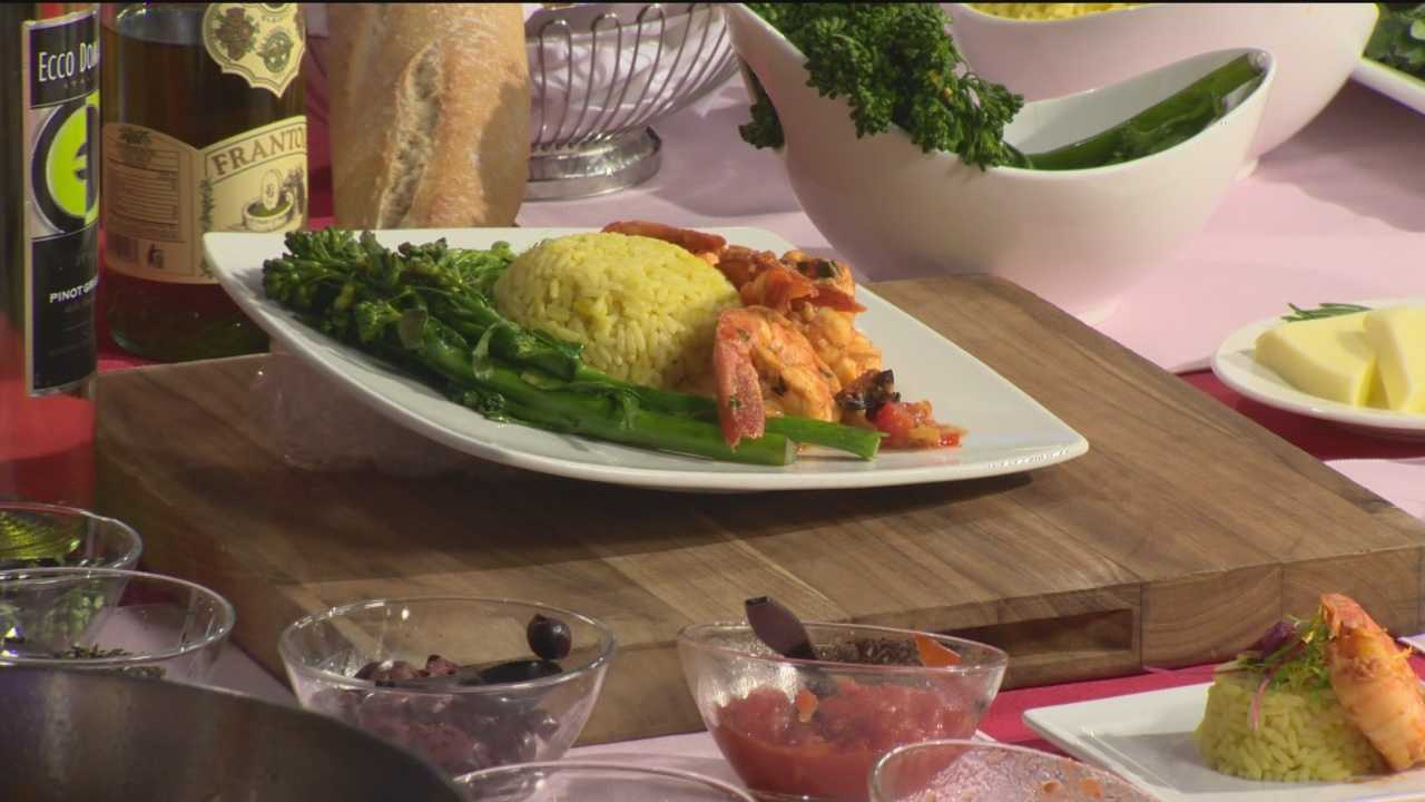 Michael Dease from Classic Catering People makes a lovely Valentines Day dish.