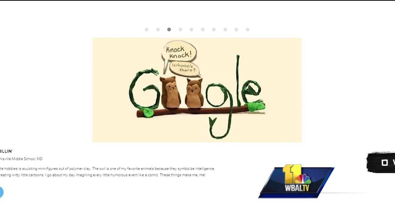 "A Columbia seventh-grader is hoping her ""Doodle 4 Google"" design will be featured on Google. It could mean big money for her and her school."