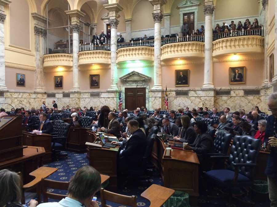 Feb. 17:House to debate pot bill.